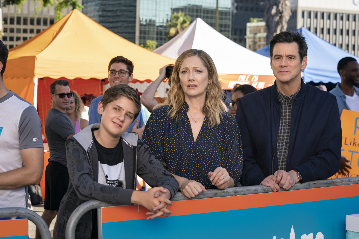 Kidding Season 2 Cole Allen, Judy Greer, and Jim Carrey Showtime