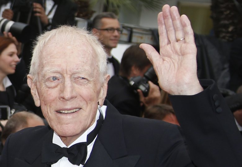 Swedish Actor Max Von Sydow Arrives For the Screening of 'The Bfg' During the 69th Annual Cannes Film Festival in Cannes France 14 May 2016 the Movie is Presented out of Competition at the Festival Which Runs From 11 to 22 May France CannesFrance Cannes Film Festival 2016 - May 2016