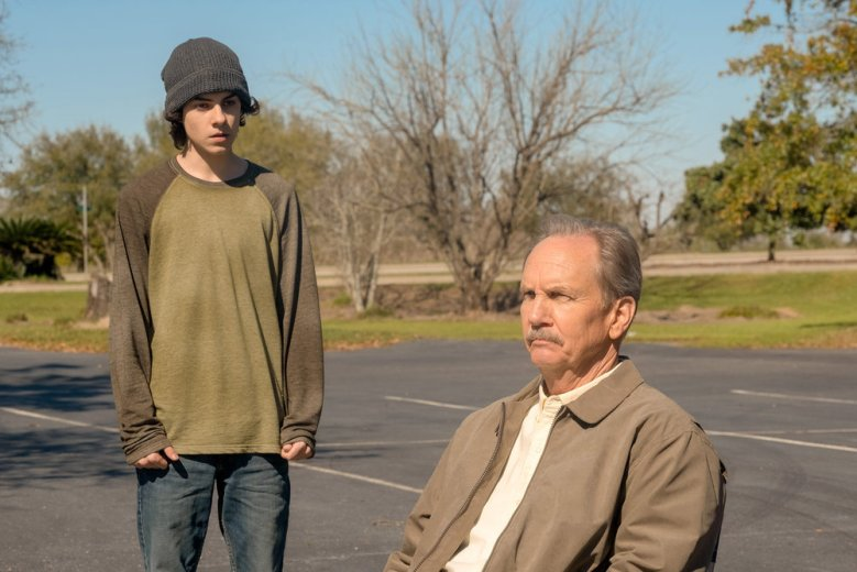 "COUNCIL OF DADS -- ""Pilot"" Episode 101 -- Pictured: (l-r) Emjay Anthony as Theo Perry, Michael O'Neill as Larry Mills -- (Photo by: Joe Mast/NBC)"