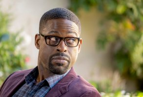 "THIS IS US -- ""Strangers: Part Two"" Episode 418 -- Pictured: Sterling K. Brown as Randall -- (Photo by: Ron Batzdorff/NBC)"