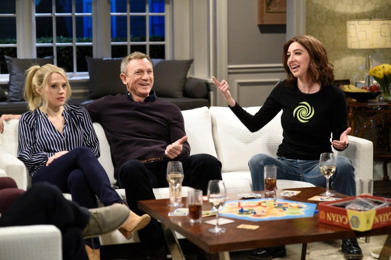 "Kate McKinnon, Daniel Craig, Heidi Gardner, ""Saturday Night Live"""
