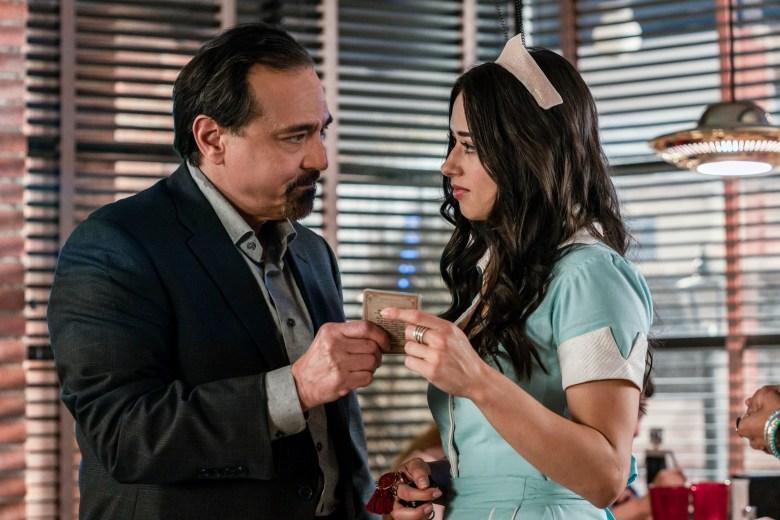 Carlos Compean and Jeanine Mason