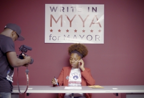"Myya Jones wages a write-in campaign for Mayor of Detroit in ""Represent"""