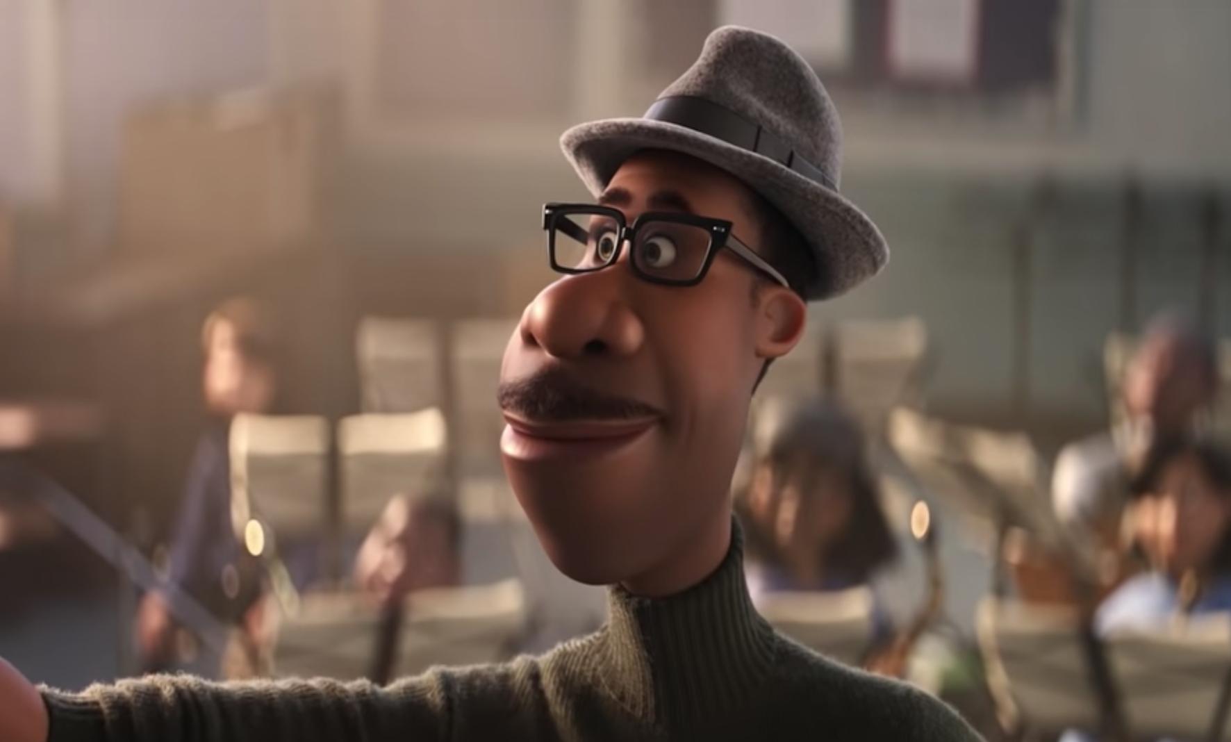 "Jamie Foxx in ""Soul"" Pixar"