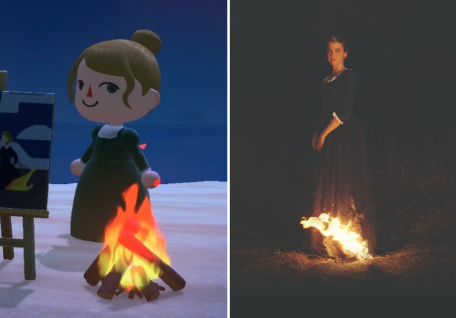 """Animal Crossing"" and ""Portrait of a Lady on Fire"""