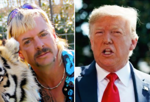 Joe Exotic and Donald Trump