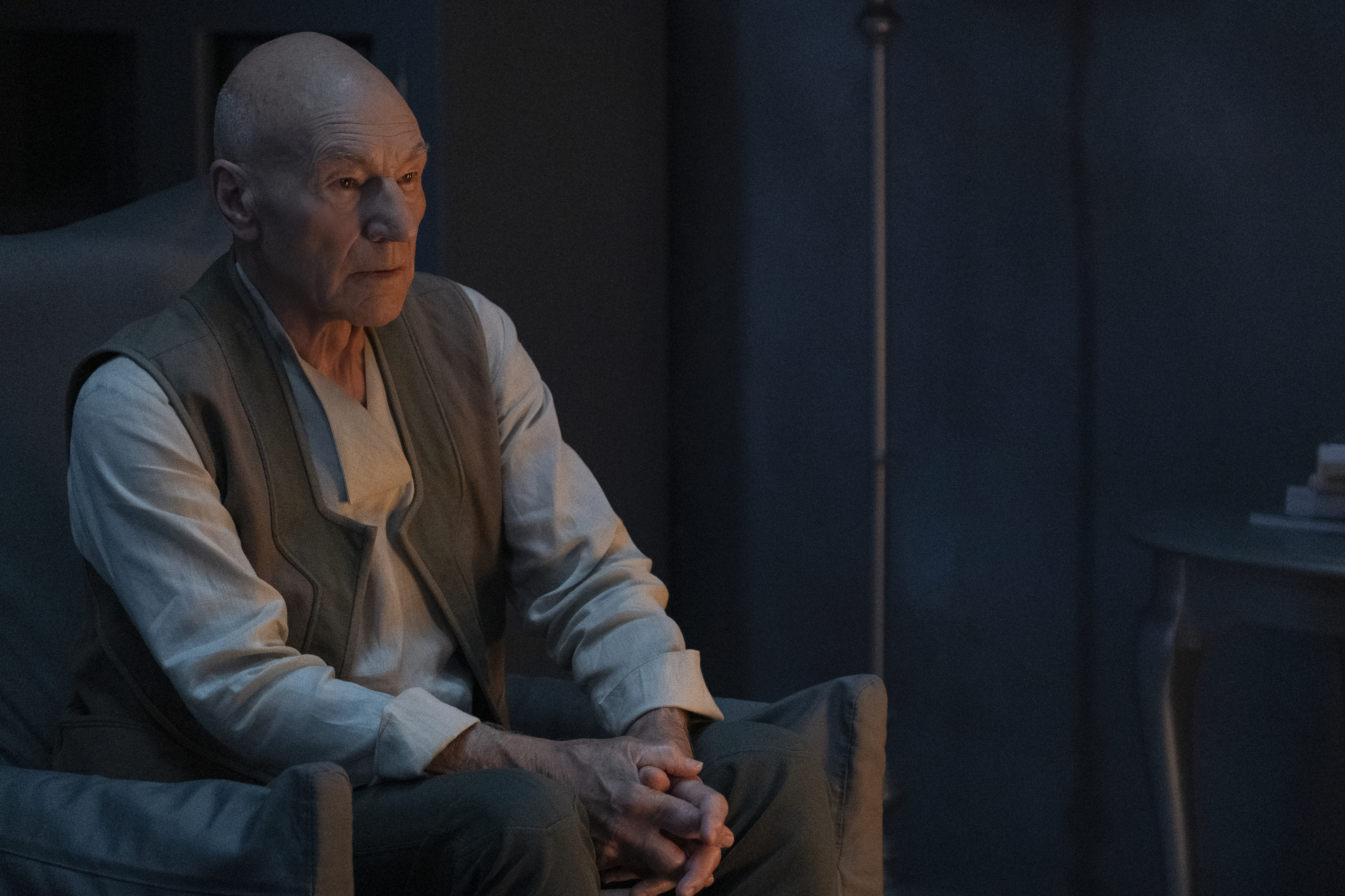 Patrick Stewart's Jean-Luc Picard is caught between warring factions in the series finale of 'Star Trek: Picard.'