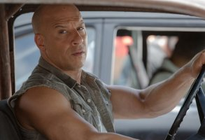 "Vin Diesel in ""The Fate of the Furious"""
