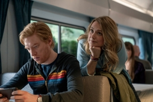'Run' Review: Merritt Wever and Domhnall Gleeson Carry a Romantic Thriller That Can't Find Its Stride
