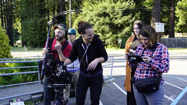 """On the set of """"Freeland"""""""