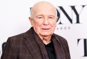 Playwright Terrence McNally poses during a press event for the 2019 Tony Award nominees in New York, New York, USA, 01 May 2019. The 2019 Tony Awards will be held on 09 June in New York.Tony Award Nominees Press Event in New York, USA - 01 May 2019