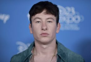 """Barry Keoghan attends """"Go Behind the Scenes with the Walt Disney Studios"""" press line at the 2019 D23 Expo, in Anaheim, Calif2019 D23 Expo - Day 2, Anaheim, USA - 24 Aug 2019"""
