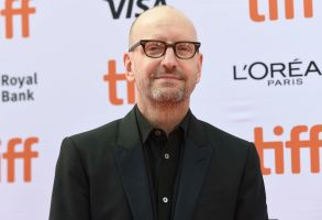 "Steven Soderbergh attends a premiere for ""The Laundromat"" on day five of the Toronto International Film Festival at Princess of Wales Theatre, in Toronto2019 TIFF - ""The Laundromat"" Premiere, Toronto, Canada - 09 Sep 2019"