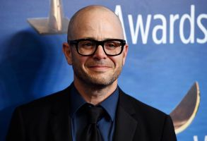 """Damon Lindelof, the creator/executive producer/writer of the HBO television series """"Watchmen,"""" poses at the 2020 Writers Guild Awards at the Beverly Hilton, in Beverly Hills, Calif2020 Writers Guild Awards, Beverly Hills, USA - 01 Feb 2020"""