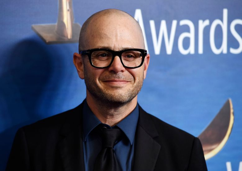 "Damon Lindelof, the creator/executive producer/writer of the HBO television series ""Watchmen,"" poses at the 2020 Writers Guild Awards at the Beverly Hilton, in Beverly Hills, Calif2020 Writers Guild Awards, Beverly Hills, USA - 01 Feb 2020"