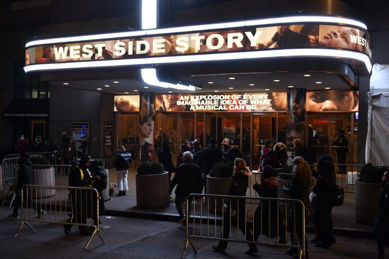 Opening night of West Side Story at the Broadway Theater'West Side Story' musical opening night, Arrivals, Broadway Theatre, New York, USA - 20 Feb 2020
