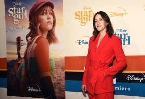"Julia Hart, director/co-screenwriter of the Disney+ film ""Stargirl,"" poses at the premiere of the film at the El Capitan Theatre, in Los AngelesWorld Premiere of ""Stargirl"", Los Angeles, USA - 10 Mar 2020"