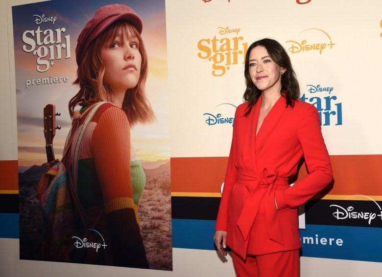 "Julia Hart, director/co-screenwriter of the Disney+ film ""Stargirl,"" poses at the premiere of the film at the El Capitan Theatre, in Los AngelesWorld Premiere of ""Stargirl"", Los Angeles, USA - 10 Mar 2020"