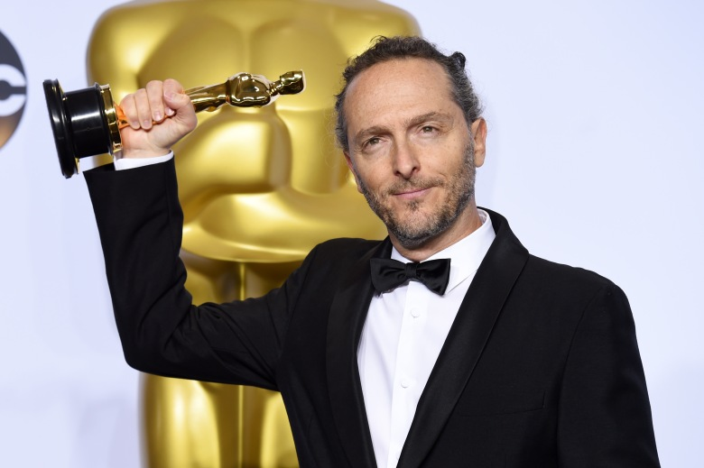 Emmanuel Lubezki - Achievement in Cinematography, The Revenant88th Annual Academy Awards, Press Room, Los Angeles, America - 28 Feb 2016