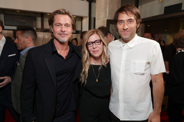 Brad Pitt, Producer/Actor, Dede Gardner, Producer, Jeremy Kleiner, Producer,Twentieth Century Fox 'Ad Astra' special film screening at the Cinerama Dome, Los Angeles, USA - 18 Sep 2019
