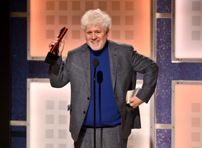 Pedro Almodovar - Best Foreign Language Film - Pain & GloryAARP The Magazine's 19th Annual Movies For Grownups Awards, Ceremony, Beverly Wilshire, Los Angeles, USA - 11 Jan 2020