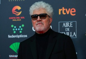 Spanish film director Pedro Almodovar poses for photographers at the red carpet ahead the Goya Film Awards Ceremony in Malaga, southern Spain,. The annual Goya Awards are Spain's main national film awardsGoya Awards, Malaga, Spain - 25 Jan 2020