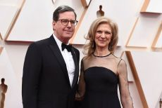 David Rubin, Dawn Hudson. David Rubin, President of the Academy of Motion Picture Arts and Sciences, left, and Dawn Hudson, Chief Executive Officer of the Academy of Motion Picture Arts and Sciences, arrive at the Oscars, at the Dolby Theatre in Los Angeles92nd Academy Awards - Arrivals, Los Angeles, USA - 09 Feb 2020