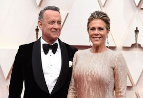"Tom Hanks, left, and Rita Wilson arrive at the Oscars at the Dolby Theatre in Los Angeles. The couple have tested positive for the coronavirus, the actor said in a statement Wednesday, March 11. The 63-year-old actor said they will be ""tested, observed and isolated for as long as public health and safety requiresVirus Outbreak Tom Hanks, Los Angeles, United States - 09 Feb 2020"