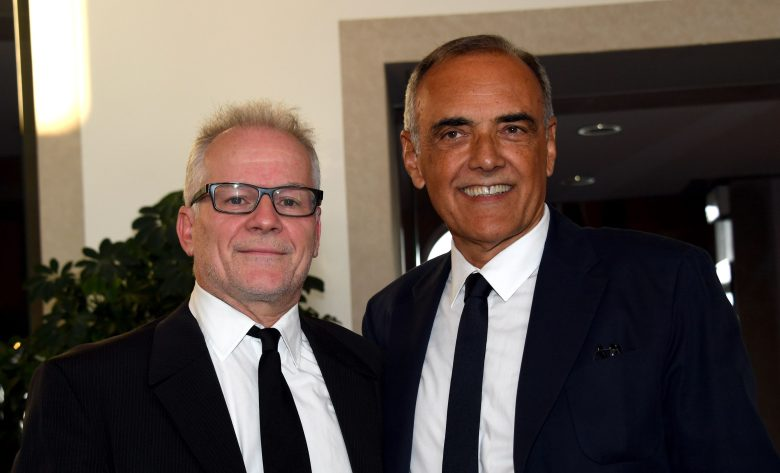 Thierry Fremaux, Director of the Cannes Film Festival, and Alberto Barbera, Director of the Venice Film FestivalAlberto Barbera and Thierry Fremaux photocall, 73rd Venice Film Festival, Italy - 30 Aug 2016