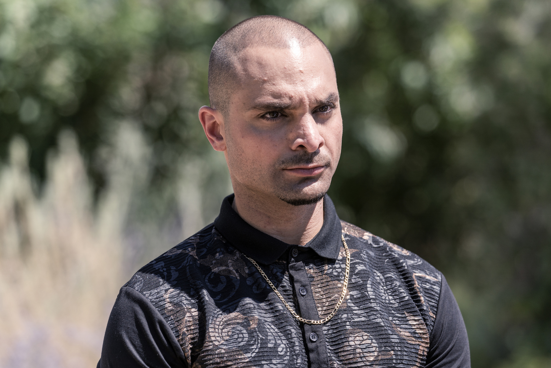 Michael Mando as Nacho Varga - Better Call Saul _ Season 5, Episode 10 - Photo Credit: Greg Lewis/AMC/Sony Pictures Television