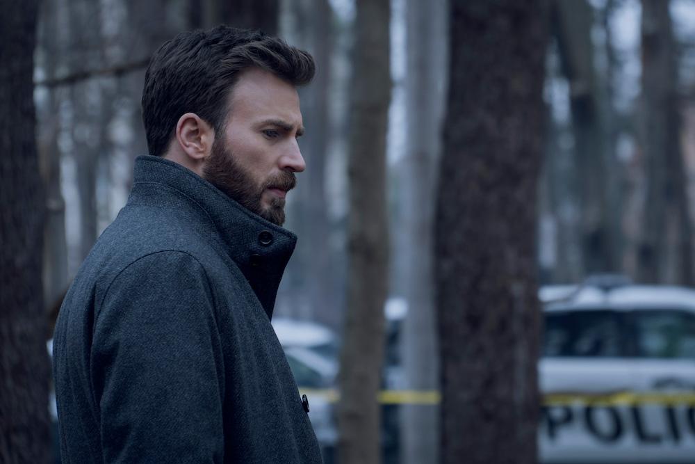 "Chris Evans in ""Defending Jacob"" Apple TV+"