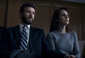 Chris Evans Defending Jacob Apple TV+ Michelle Dockery
