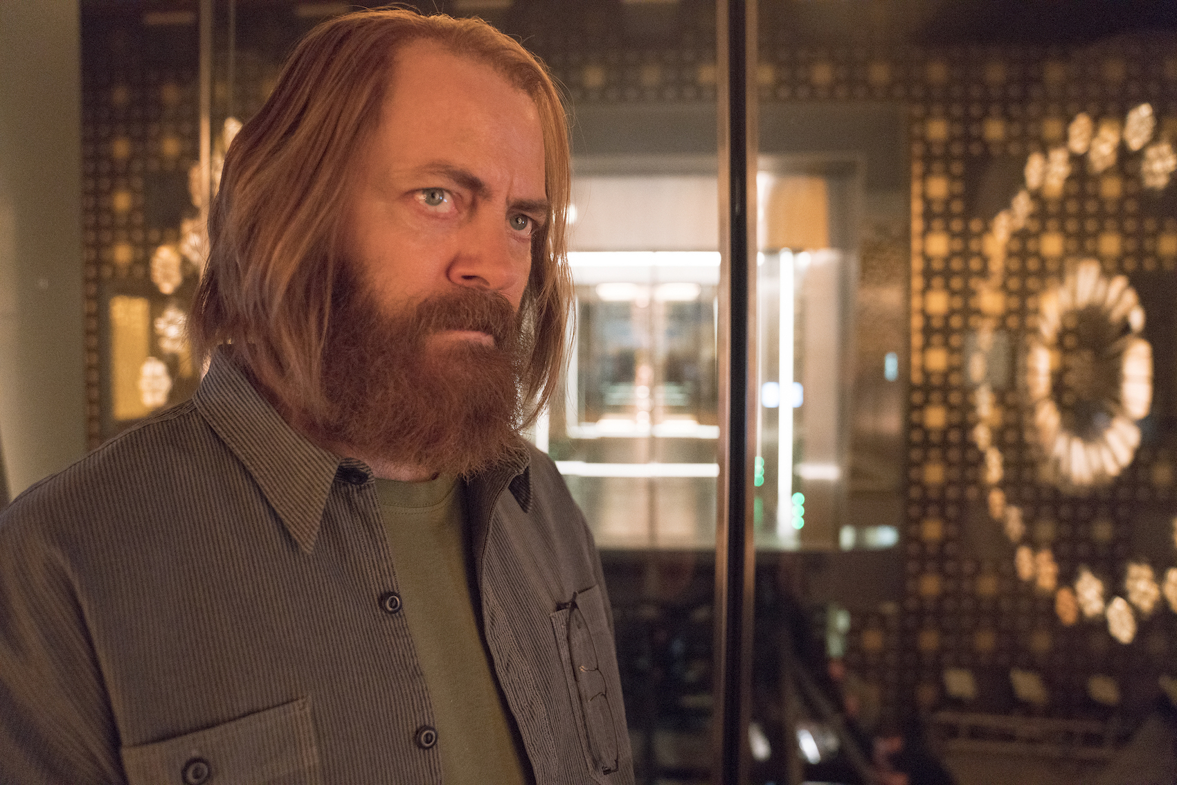 """DEVS """"Episode 7"""" (Airs Thursday, April 2) -- Pictured Nick Offerman as Forest. CR: Miya Mizuno/FX"""