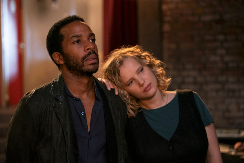 """André Holland and Joanna Kulig in """"The Eddy"""" Netflix"""