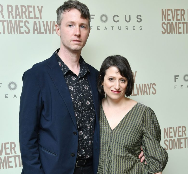 Scott Cummings and Eliza Hittman'Never Rarely Sometimes Always' film premiere, Arrivals, New York, USA - 09 Mar 2020