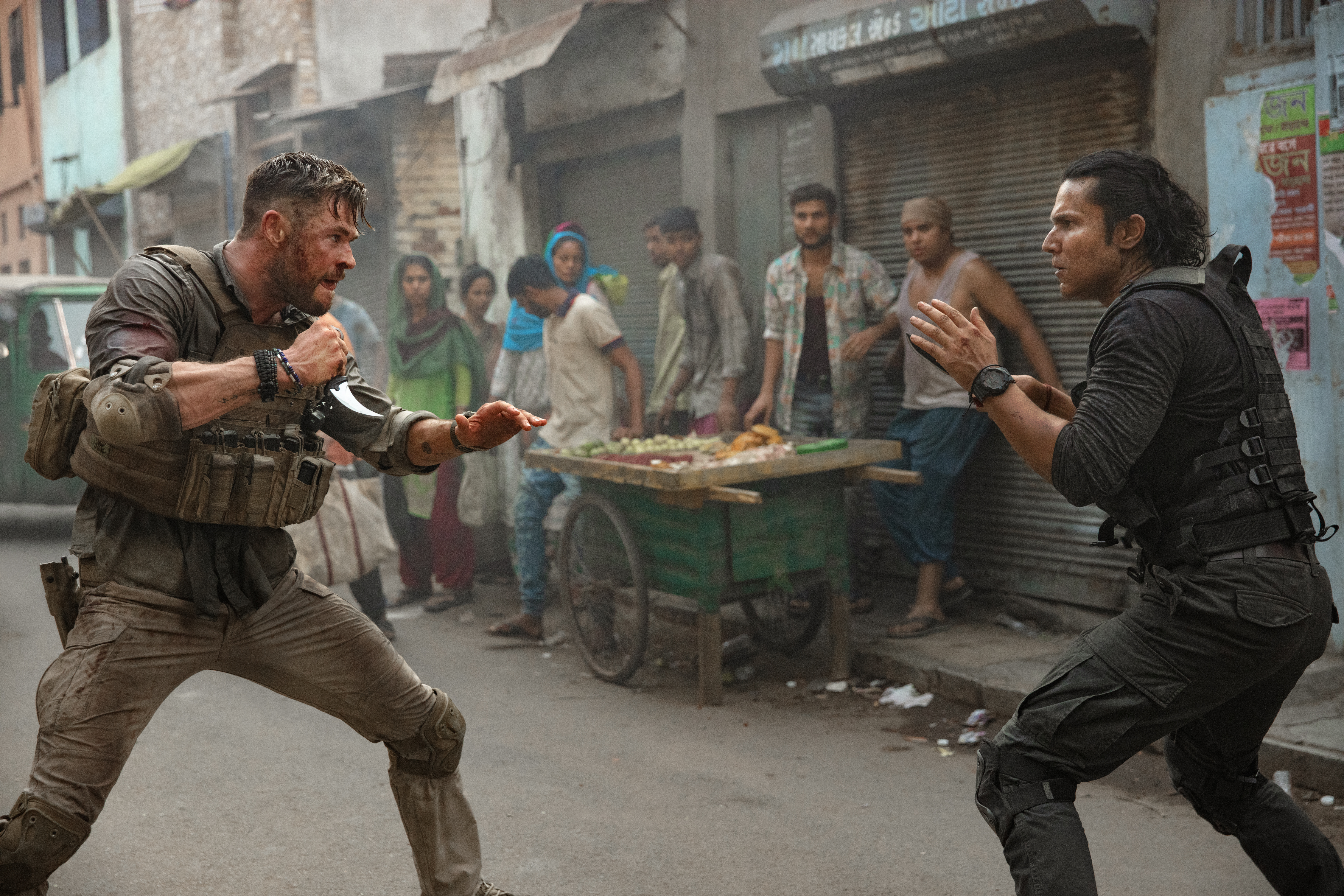 Extraction How Wild 12 Minute One Shot Action Sequence Was Made Indiewire