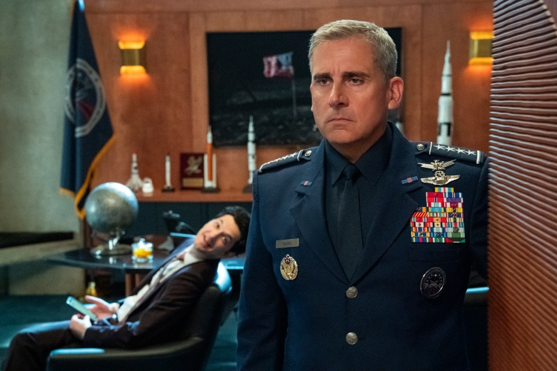 "Steve Carell in ""Space Force"""