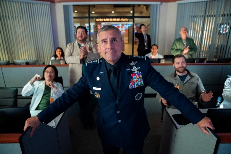 """Steve Carell in """"Space Force"""""""