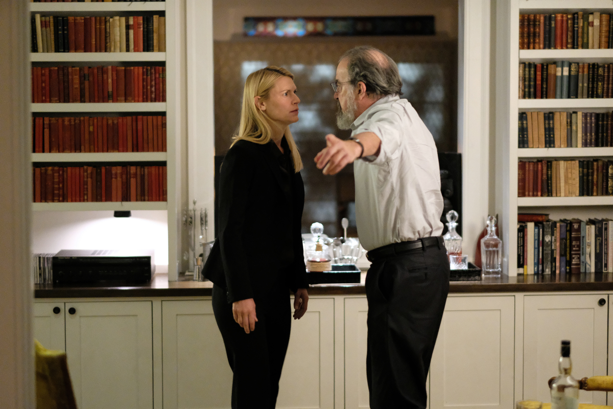 Homeland Series Finale claire danes mandy patinkin ending