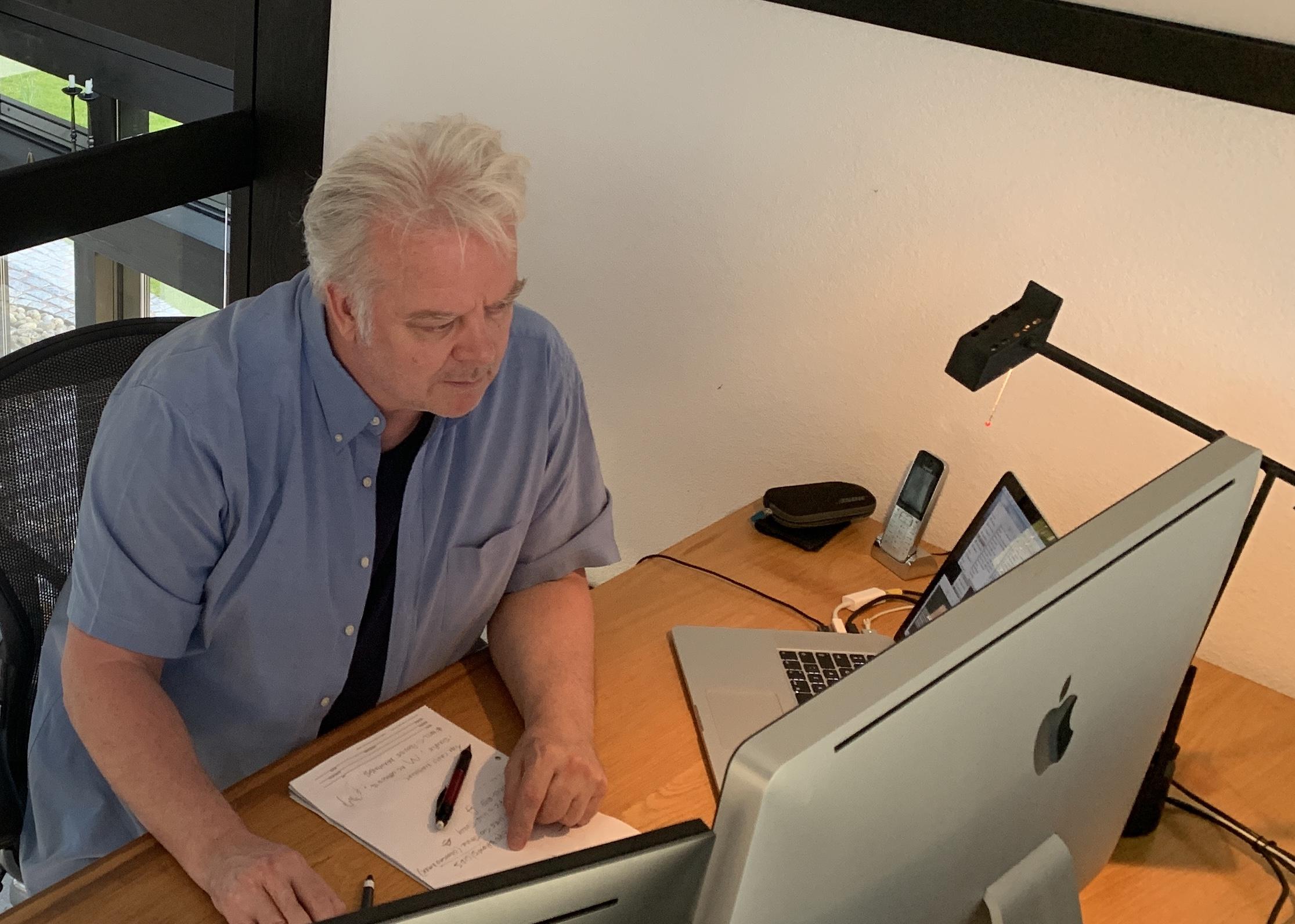 Michael Eames, Framestore Animation Director