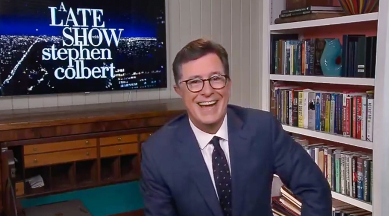 "Stephen Colbert on ""The Late Show with Stephen Colbert"""