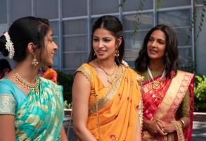 Maitreyi Ramkrishnan, Richa Moorjani, Poorna Jagannathan