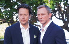 Cary Fukunaga and Daniel Craig