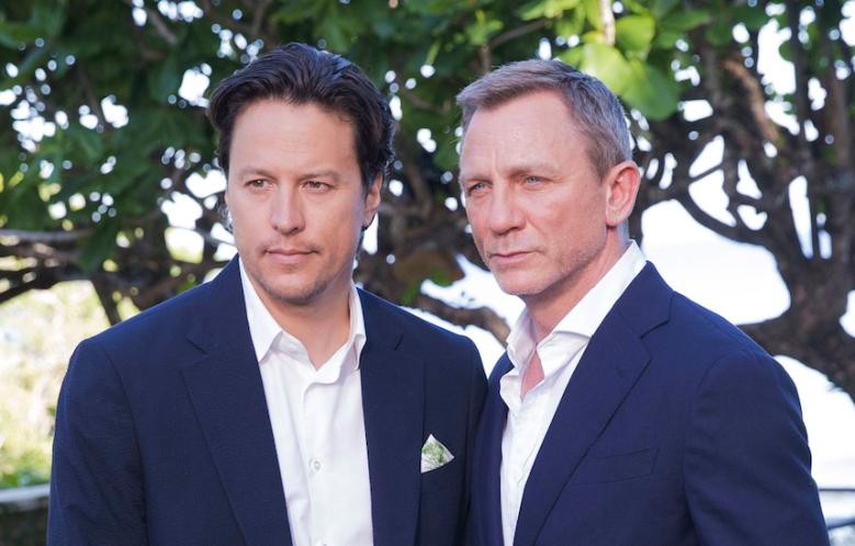 Cary Fukunaga and Daniel Craig