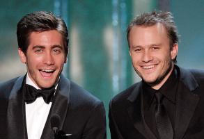 Jake Gyllenhaal and Heath Ledger