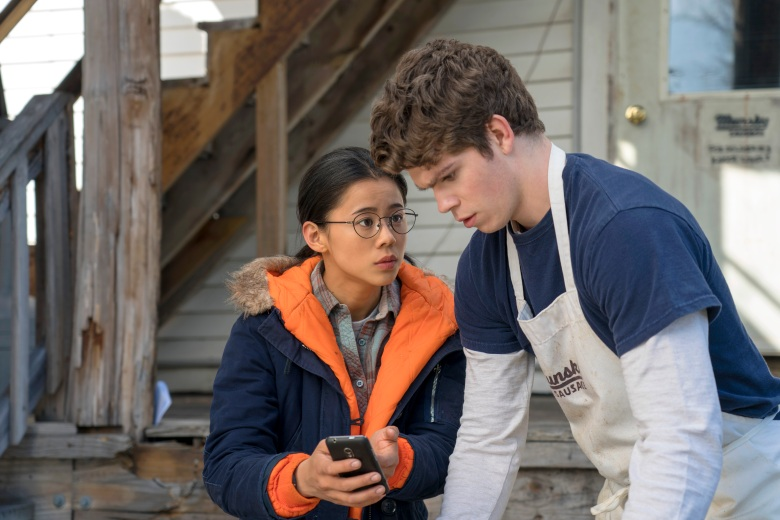 The Half Of It - Leah Lewis, Daniel Diemer - Photo Credit: Netflix / KC Bailey