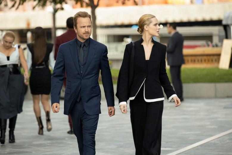 Westworld Season 3 Episode 4 Aaron Paul Evan Rachel Wood