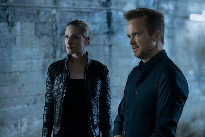 Westworld Season 3 Episode 5 Evan Rachel Wood Aaron Paul