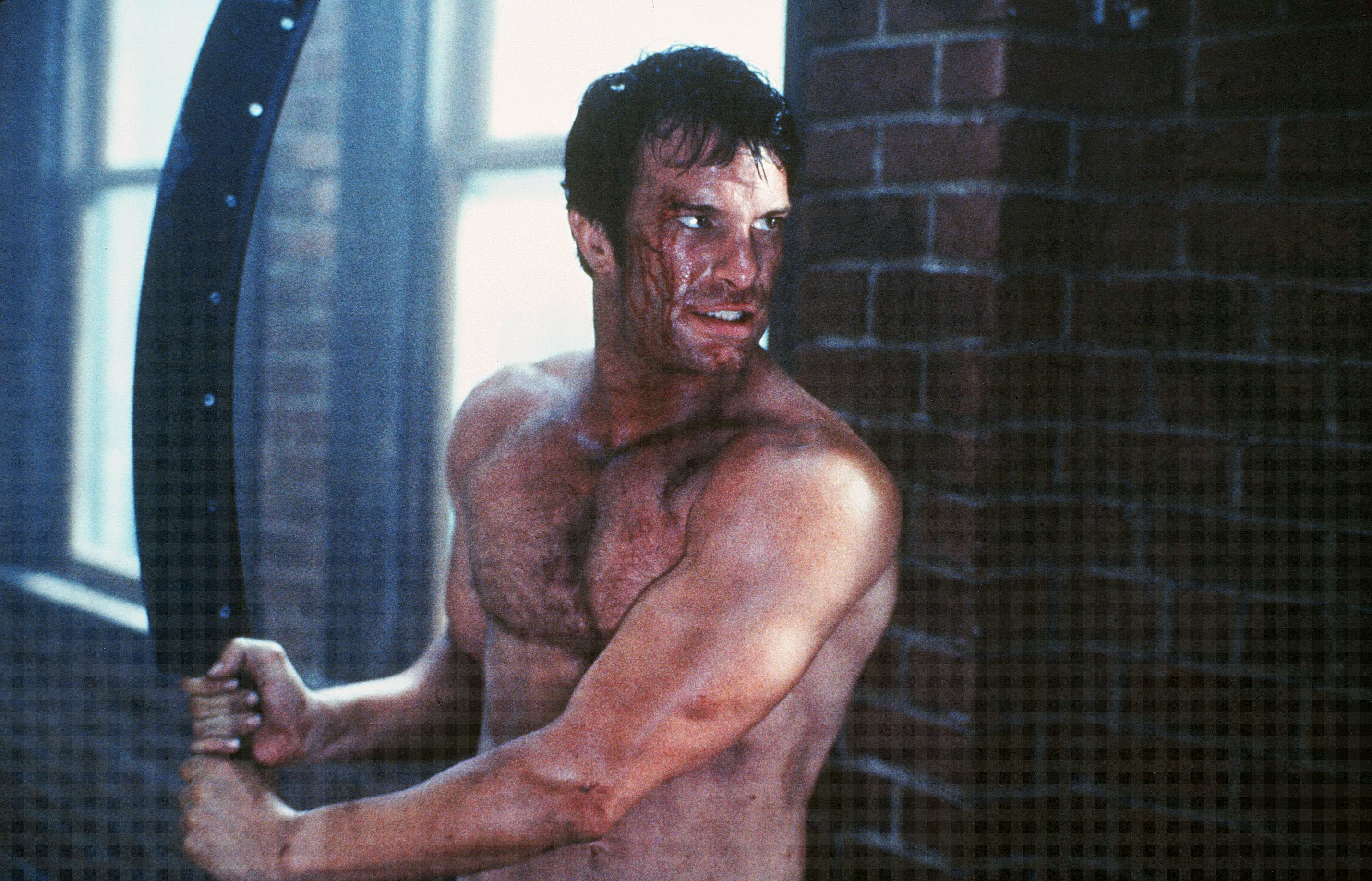 Editorial use only. No book cover usage.Mandatory Credit: Photo by Marvel/Columbia Tristar/Kobal/Shutterstock (5881591j) Thomas Jane The Punisher - 2004 Director: Jonathan Hensleigh Marvel / Columbia Tristar USA Scene Still Thriller