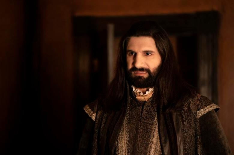 "WHAT WE DO IN THE SHADOWS -- ""Resurrection"" -- Season 2, Episode 1 - Pictured (l-r): Kayvan Novak as Nandor. CR: Russ Martin/FX"
